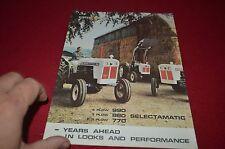 David Brown 990 880 770 Tractor Dealer's Brochure DCPA6
