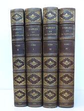 LA FONTAINE (Jean de). Fables avec les figures d'Oudry. Paris: Lévy (1886-1887)