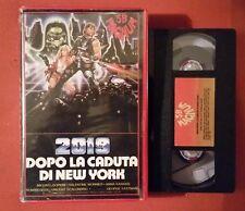 2019 Dopo la caduta di New York (1983) Sergio Martino -VHS MAGNUM 3B INTROVABILE