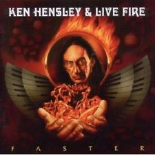 "Ken Hensley & Live Fire ""Faster"" CD NUOVO"