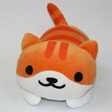 "14"" Game Neko Atsume ねこあつめ Kitty Collector Pumpkin Plush Toys Stuffed Doll"