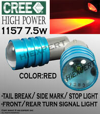 JDM x2 Super Red LED Bulbs For Tail Brake/Stop Bright Light 1157 CREE 2357 J5935