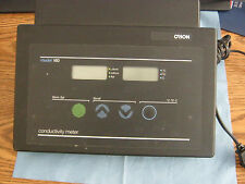 Orion Model: 160 Conductivity Meter.  Powered and Sold as Working.  No Probes