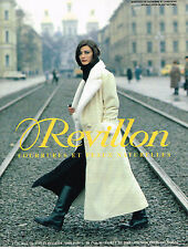 PUBLICITE ADVERTISING 034   1993   REVILLON   boutique fourrure