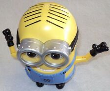 THINKWAY TOYS DESPICABLE ME 2 MINIONS DAVE TALKING FARTING RARE WORKS GREAT BIG!