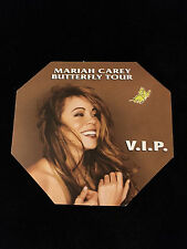 MARIAH CAREY 1997 BUTTERFLY TOUR VIP BACKSTAGE PASS