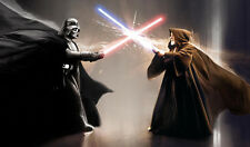 C1033 Free Mat Bag Obi-Wan Kenobi VS Darth Vader Star Wars Playmat Mouse Pad