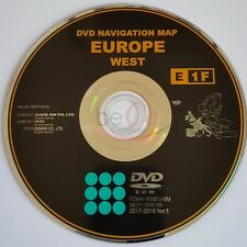 Toyota, Lexus ORIGINAL Navigation DVD Update Map E1F 2018 West Europa Europe