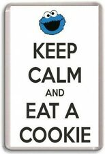 KEEP CALM AND EAT A COOKIE, Cookie Monster Fridge Magnet