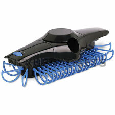 Electronic Revolving Motorized Tie Rack Organizer Space Saver Closet Mount BLUE
