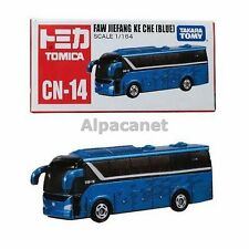 Japan Tomica Toys Tomy Dream TD CN-14 Faw Bus Asia Blue China Limited Diecast