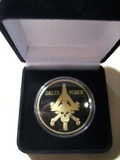 U S ARMY DELTA FORCE Challenge Coin W/ Gift Box
