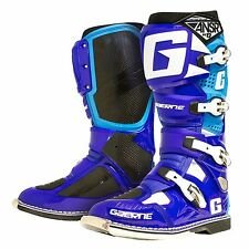 Gaerne Answer SG 12 Cooper Webb Blue Cyan Boot Boots Size UK Size 10 Euro 44.5