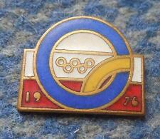 NOC POLAND OLYMPIC  INNSBRUCK MONTREAL 1976 - 1 TIER PIN BADGE