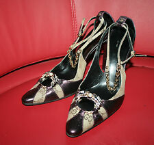 Famous Iconic Tom Ford Gucci Dragon shoes crystal faux pearls detail stunning