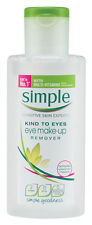 Ojo simple Removedor De Maquillaje - 125ml
