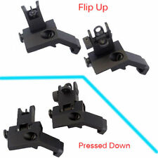 Front & Rear flip up 45 Degree Rapid Transition BUIS Backup Iron Sight Mount