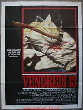 VENDREDI 13 Friday the 13th Affiche Cinéma / Movie Poster Betsy Palmer