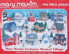 PINE TREES - Mary Maxium Exclusive Musical Village needlepoint kit #77413