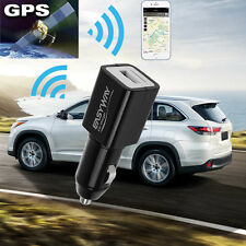 Mini Car Charger Tracker SPY Vehicle GSM GPRS GPS Locator Real Time Tracking HRM