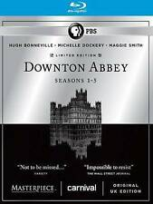 NEW!Masterpiece: Downton Abbey: Seasons 1-5 (Blu-ray Disc, 2015, 14-Disc Set,...