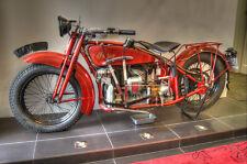 Indian Motorcycle Cruiser Metal Sign