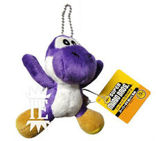 SUPER MARIO BROS. YOSHI VIOLA PELUCHE PORTACHIAVI plush keychain purple doll new