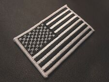 USA AMERICAN FLAG TACTICAL US ARMY MORALE MILITARY BLACK OPS SWAT VELCRO PATCH