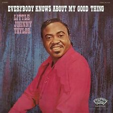 LITTLE JOHNNY TAYLOR Everybody Knows About My Good Thing RONN RECORDS Sealed LP