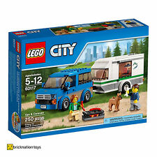 LEGO 60117 CITY Van & Caravan NEW SEALED