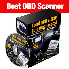COMPLETE Car Diagnostic Software OBD OBD2 EOBD SCAN CHECK ENGINE ECU CORRECTION