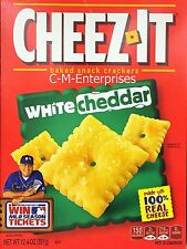 Cheez It White Cheddar Baked Snack Crackers 12.4 oz