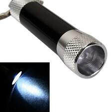 New Waterproof LED Flashlight Torch Keys Chains Keychain Light