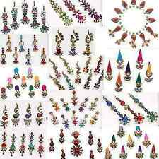 12 Different Packets of India Traditional Bindi Tika Tattoo with Free Shipping