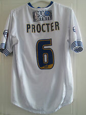 Procter Match Worn Squad Signed 2013-2014 Bury Football Shirt FLT COA /39413