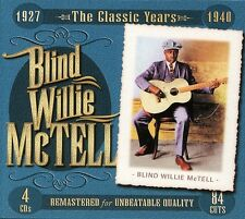 Mctell,Blind Willie - Classic Years 1927-1940 (CD NEUF)