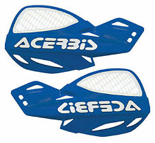 Acerbis Uniko Blue Vented Plastic Hand Guards Fits Yamaha Dirt Bikes Motorcycle