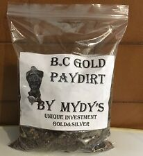 1 Lbs Gold Paydirt Unsearched and 100% Added GOLD! Panning Nuggets