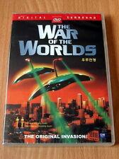 The War of the Worlds Original 1953 - Gene Barry - NEW DVD