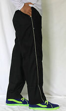 Men's Cotton Basic Three Pockets Night / Casual Wear Track Pant, Lower -Black