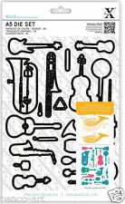 23 piece die set Musical Instruments Music dies Guitar Saxophone Violin Trombone