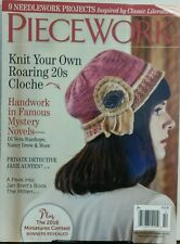 Piecework Sep Oct 2016 Knit Your Own Roaring 20s Cloche Project FREE SHIPPING sb