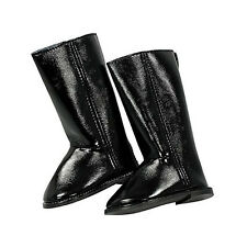 Gotz Hannah play doll Black Glossy Boots 3401796 NEW