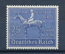 Deutsches Reich Mi-Nr: 698 ** postfrisch, 70 Jahre Deutsches Derby Hamburg