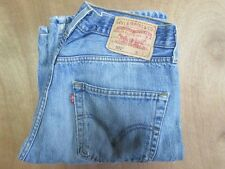 "Men's levi`s 501 jeans W31"" - L32"" red tab coupe droite bleu moyen authentique"