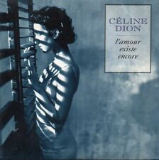 ★☆★ CD SINGLE Céline DION L'amour existe encore 2-track CARD SLEEVE + RARE G/EX
