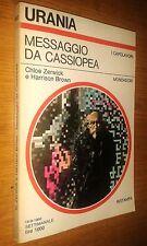 URANIA # 853 - CHLOE ZERWICK-HARRISON BROWN-MESSAGGIO DA CASSIOPEA- 1980