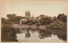River Wye & Cathedral, HEREFORD, Herefordshire