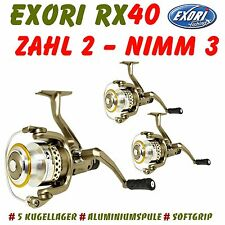 Exori RX 40 Allroundrolle with Rear brake for Drag, Blinkern, Feather uvm