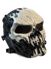 Paintball Maske neu (schwarz/weiß)
